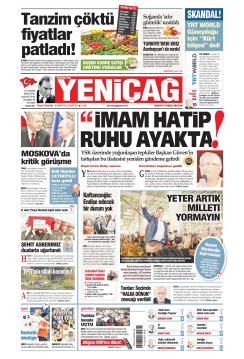 Türkiye'de Yeni Çağ - 08 Nisan 2019