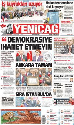 Türkiye'de Yeni Çağ - 09 Nisan 2019