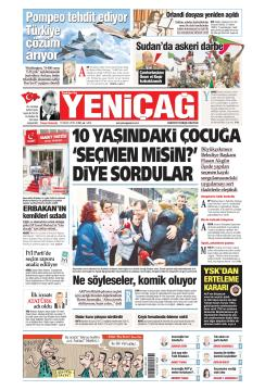 Türkiye'de Yeni Çağ - 12 Nisan 2019