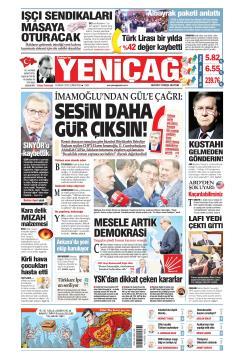 Türkiye'de Yeni Çağ - 13 Nisan 2019