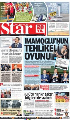 STAR - 15 Nisan 2019