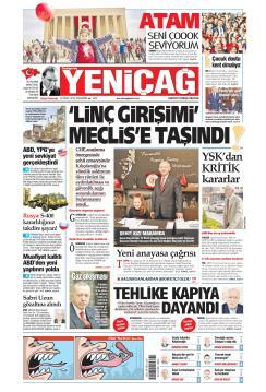 Türkiye'de Yeni Çağ - 24 Nisan 2019