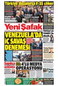 YENİ ŞAFAK - 01 Mayıs 2019