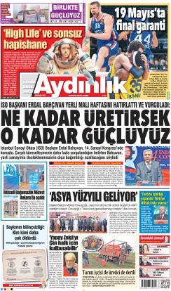 AYDINLIK - 03 Mayıs 2019