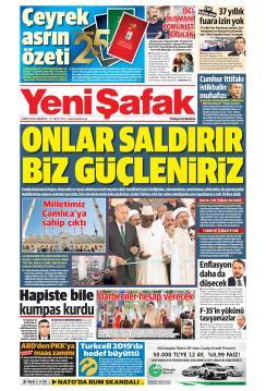 YENİ ŞAFAK - 04 Mayıs 2019