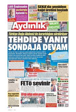 AYDINLIK - 07 Mayıs 2019