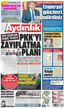 AYDINLIK - 08 Mayıs 2019