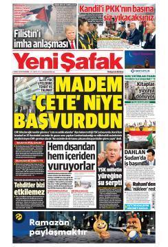 YENİ ŞAFAK - 09 Mayıs 2019