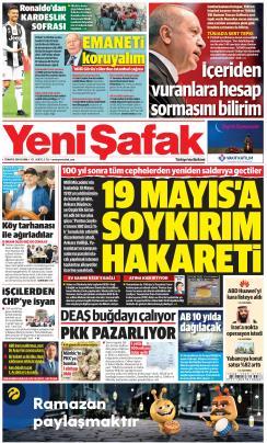 YENİ ŞAFAK - 17 Mayıs 2019