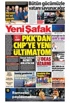 YENİ ŞAFAK - 18 Mayıs 2019