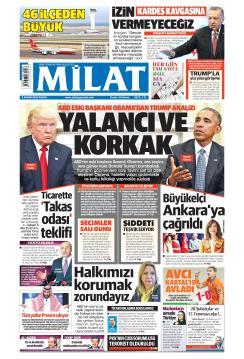 MİLAT - 04 Kasım 2018