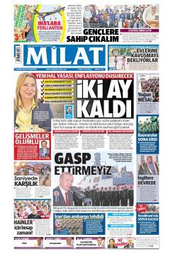 MİLAT - 05 Kasım 2018