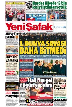 YENİ ŞAFAK - 12 Kasım 2018