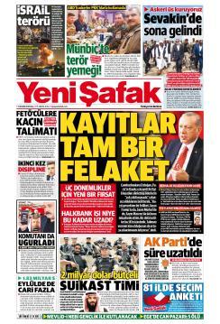 YENİ ŞAFAK - 13 Kasım 2018
