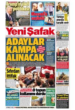 YENİ ŞAFAK - 23 Kasım 2018