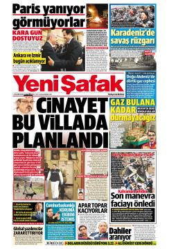 YENİ ŞAFAK - 27 Kasım 2018