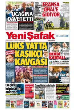 YENİ ŞAFAK - 03 Aralık 2018