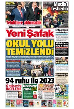 YENİ ŞAFAK - 04 Aralık 2018