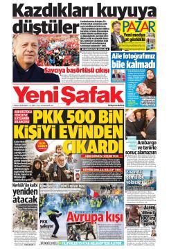 YENİ ŞAFAK - 09 Aralık 2018