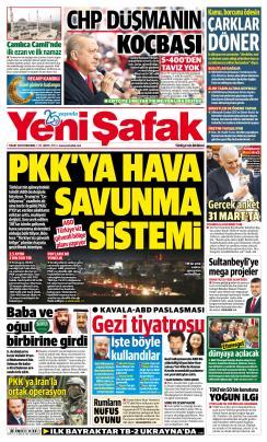 YENİ ŞAFAK - 07 Mart 2019