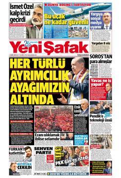 YENİ ŞAFAK - 12 Mart 2019