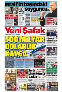 YENİ ŞAFAK - 14 Mart 2019