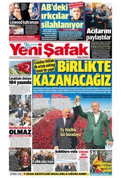 YENİ ŞAFAK - 18 Mart 2019