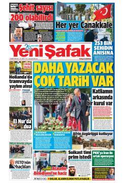 YENİ ŞAFAK - 19 Mart 2019