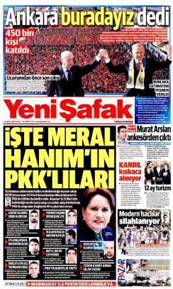 YENİ ŞAFAK - 24 Mart 2019