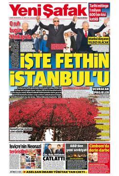 YENİ ŞAFAK - 25 Mart 2019