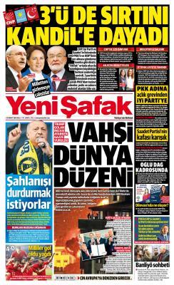 YENİ ŞAFAK - 26 Mart 2019