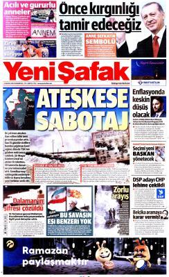 YENİ ŞAFAK - 13 Mayıs 2019