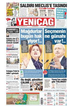 Türkiye'de Yeni Çağ - 15 Mayıs 2019