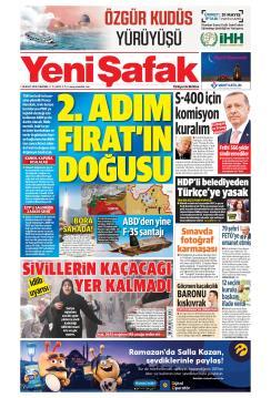 YENİ ŞAFAK - 30 Mayıs 2019