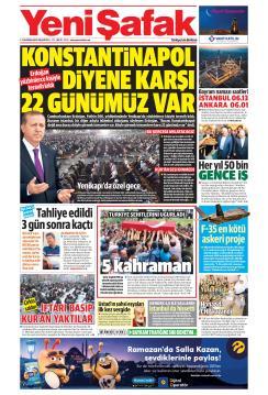 YENİ ŞAFAK - 03 Haziran 2019