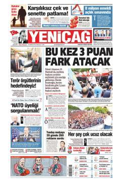 Türkiye'de Yeni Çağ - 16 Haziran 2019