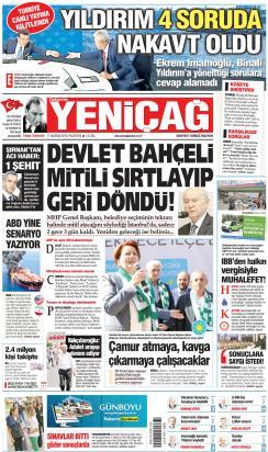 Türkiye'de Yeni Çağ - 17 Haziran 2019