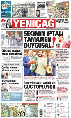 Türkiye'de Yeni Çağ - 20 Haziran 2019