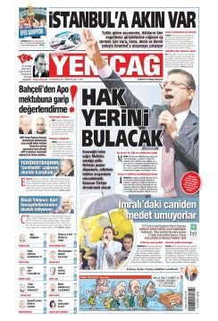 Türkiye'de Yeni Çağ - 22 Haziran 2019