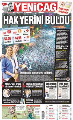 Türkiye'de Yeni Çağ - 24 Haziran 2019