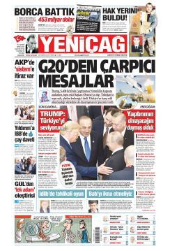 Türkiye'de Yeni Çağ - 30 Haziran 2019
