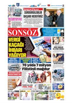 SONSÖZ - 01 Temmuz 2019