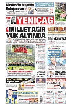 Türkiye'de Yeni Çağ - 08 Temmuz 2019