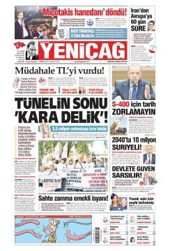Türkiye'de Yeni Çağ - 09 Temmuz 2019