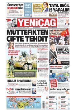 Türkiye'de Yeni Çağ - 11 Temmuz 2019