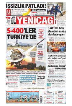 Türkiye'de Yeni Çağ - 13 Temmuz 2019