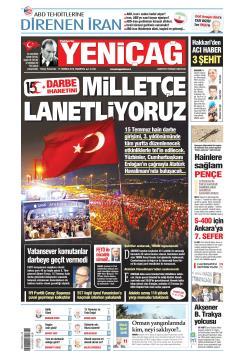 Türkiye'de Yeni Çağ - 15 Temmuz 2019