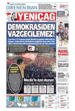 Türkiye'de Yeni Çağ - 16 Temmuz 2019