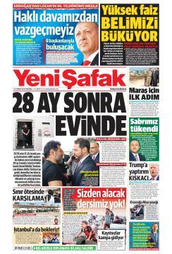 YENİ ŞAFAK - 25 Temmuz 2019