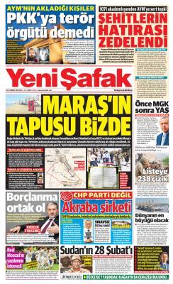YENİ ŞAFAK - 30 Temmuz 2019